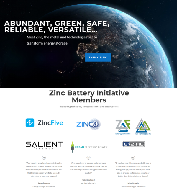 International Zinc Association Launches Zinc Bat...