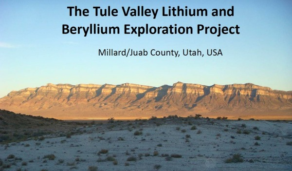 Umbral Energy to explore for lithium brines in U...