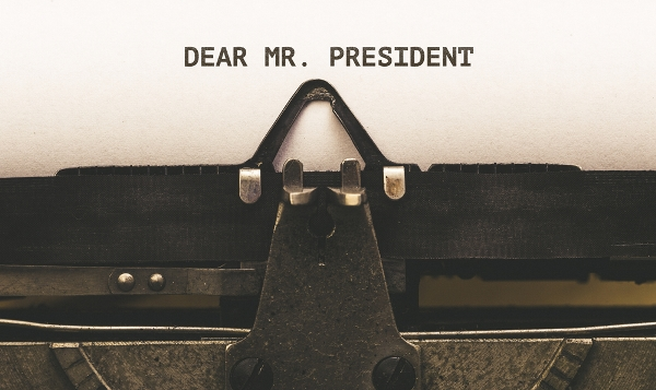 An open letter to the President of the US, Mr. D...