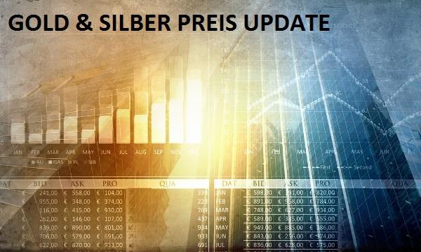 Gold & Silber Preis Update 2...