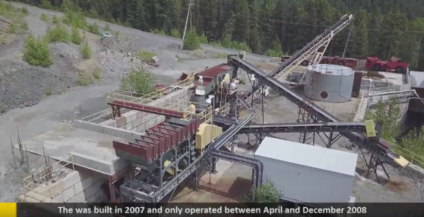 Golden Dawn Minerals Drohnen-Videos...